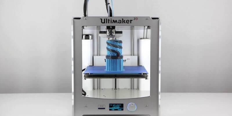 Dual Extruder 3D Printer