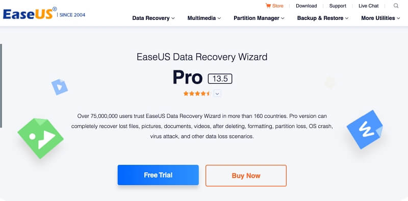 EaseUse Data Recovery Wizard