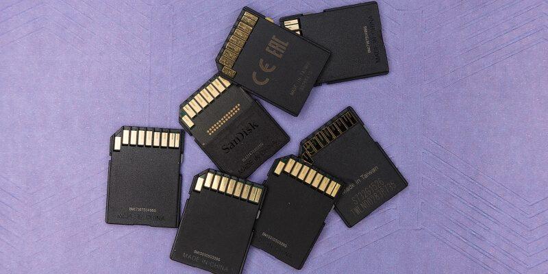 Memory Card for Nikon D3400