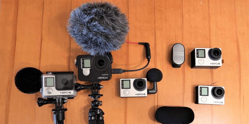 Microphones for GoPro