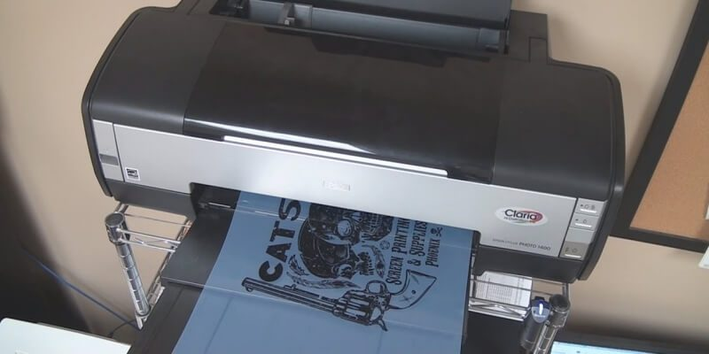 Printer for Screen Printing