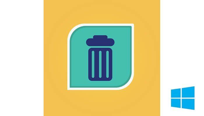 restore emptied Windows recycle bin