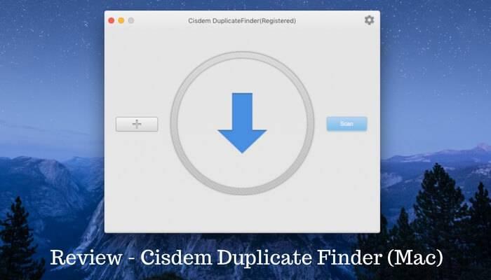 Cisdem duplicate finder review
