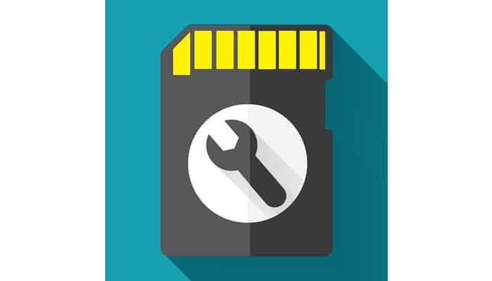fix an sd memory card