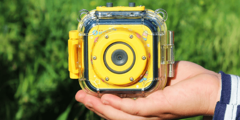 Waterproof Camera for Kids