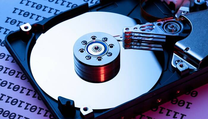 Windows PC hard drive data recovery