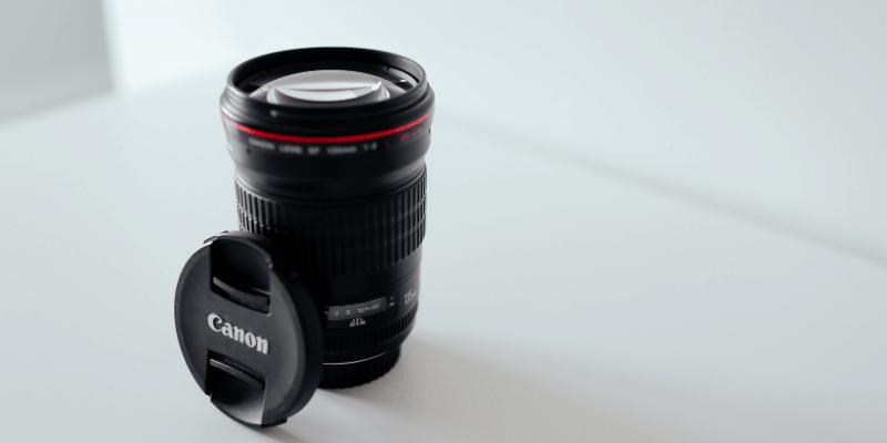 canon lense for video