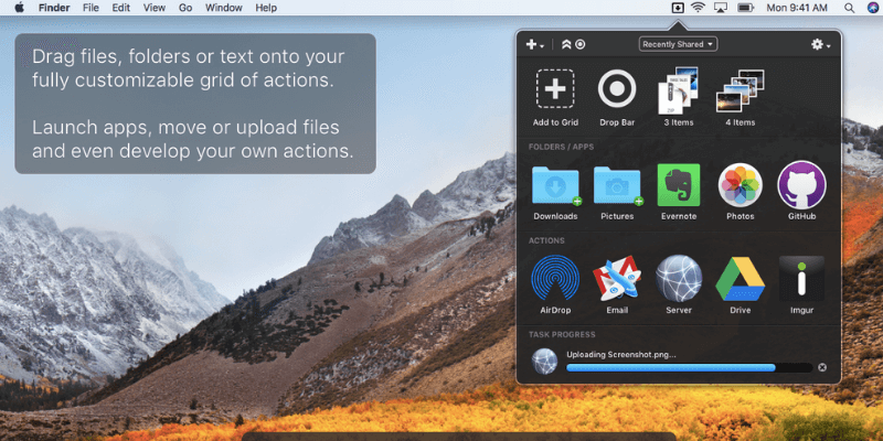 Dropzone Review: Best App for Moving and Sharing Files on Mac