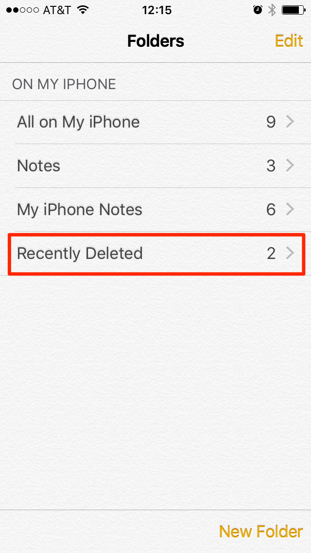 iphone 6 how to delete trash