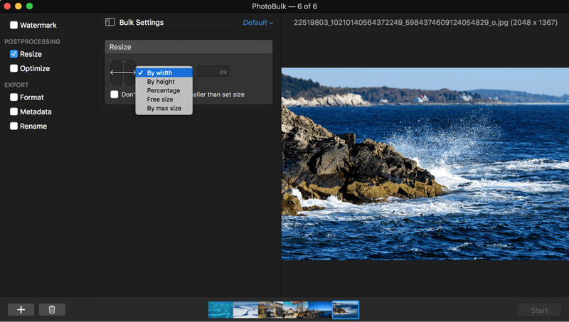 PhotoBulk Review: A Simple Powerful Batch Photo Editor For Mac