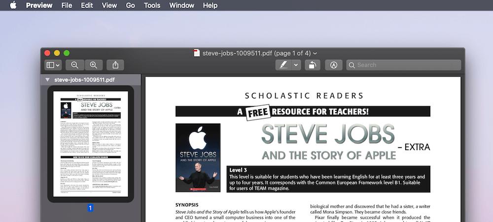 Mac dan t preview apps