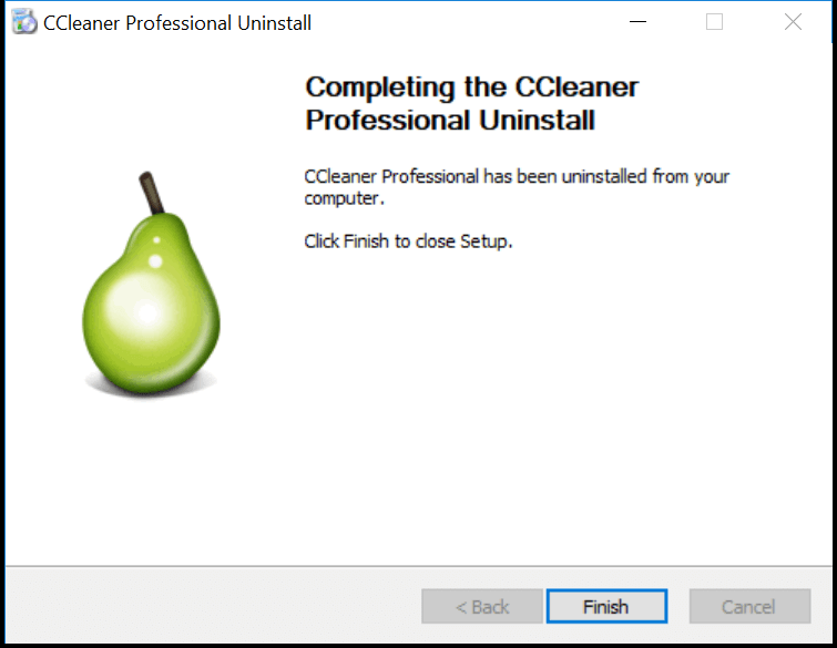 uninstall ccleaner7